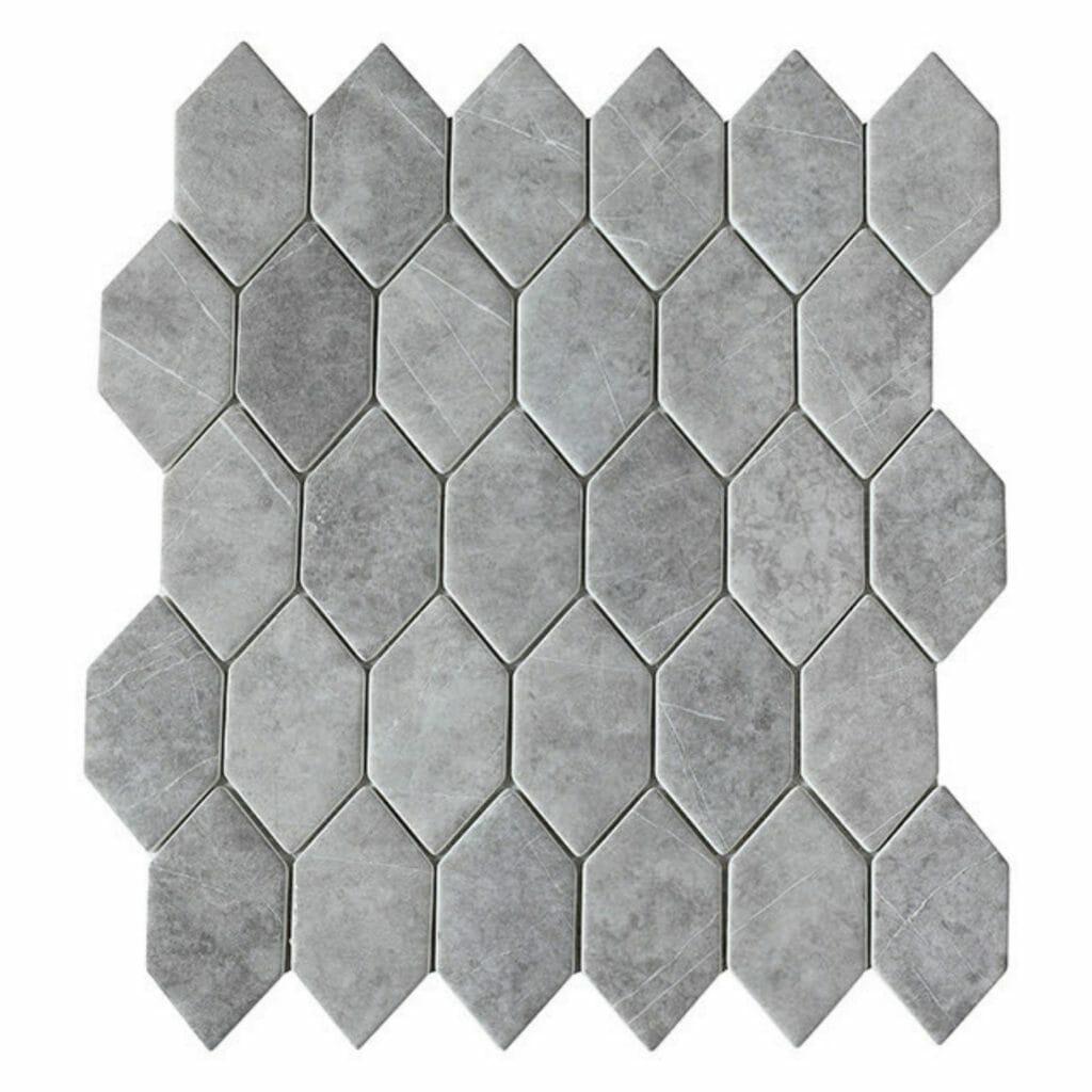 hexagon-grey-marble-mosaic-tile
