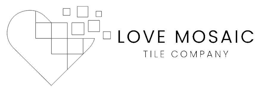 Love Mosaic Black Logo