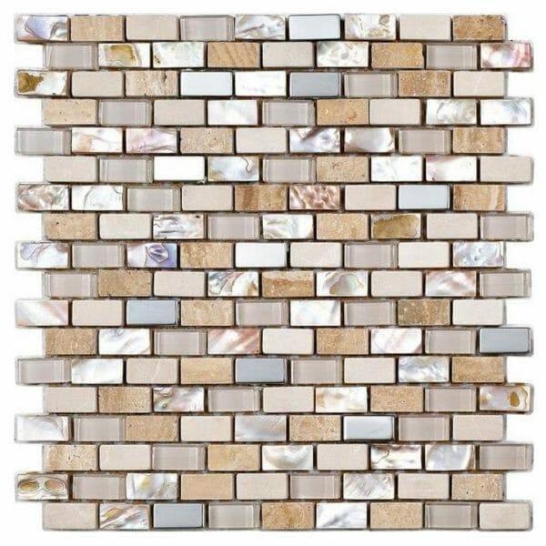 pearl-cream-beige-mosaic-tile