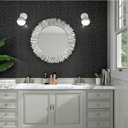 hive-matt-black-hexagonal-setting